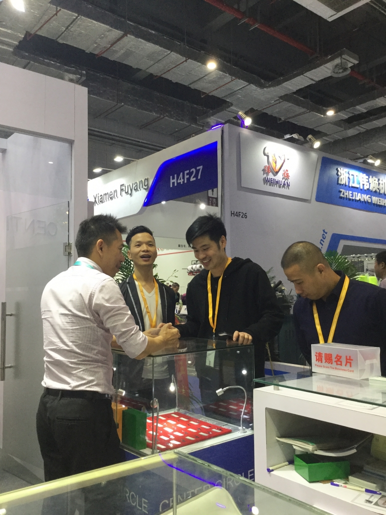 foto from center circle at itma asia + citme 2018